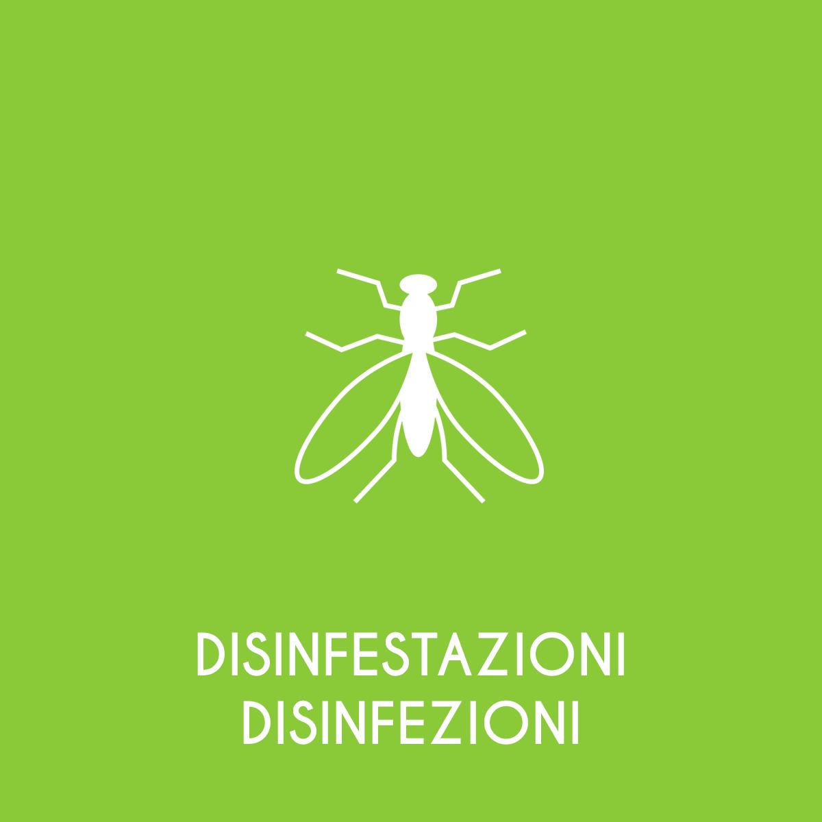 Disinfestazione e Disinfezione